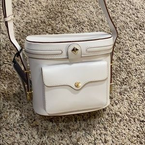 NWT Rebecca Minkoff Collin Camera Bag white